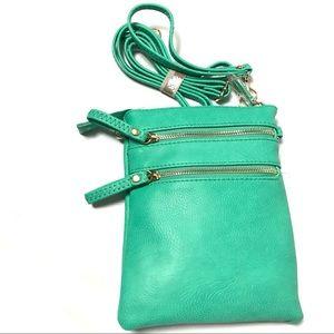 Women Crossbody Handbag Purse Tote Satchel Green